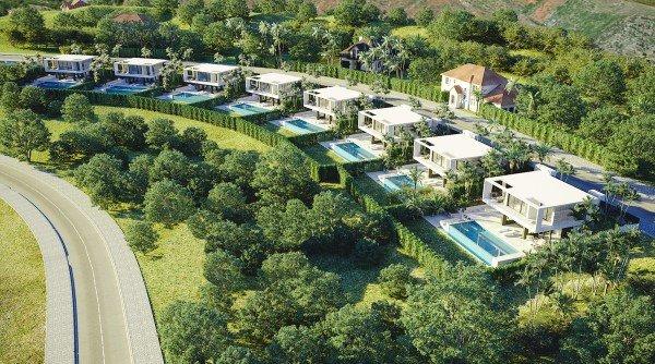 golf villas for sale in Estepona