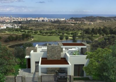 Golf villas for sale in La Cala de Mijas