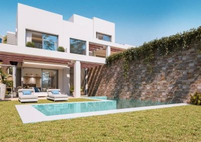New Build villas for sale in Cabopino