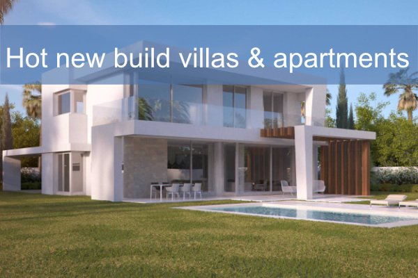 new builds and off plan marbella