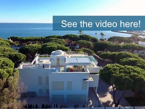 luxury villa cabopino